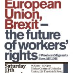European Union, Brexit – the future of workers' rights